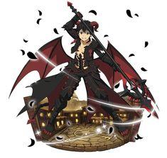 Sword Art Online Wallpaper, Sword Art Online Kirito, Artist Alley, Anime People, Asuna, Cute Pokemon, Grim Reaper, Dark Fantasy Art, Anime Demon