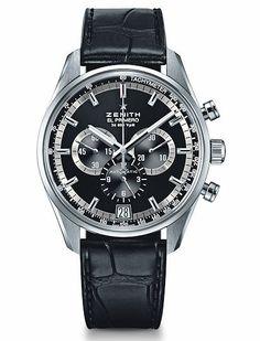 The @zenithwatches El Primero 36,000 VpH. #zenithwatches #watchtime #chronograph