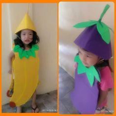 koko valle - Google+ Nutrition Month Costume, Vegetable Costumes, Fancy Dress, Summer Dresses, Google, Kids, Crafts, Fashion, Whimsical Dress