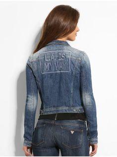 Whitney Bale Patches Denim Jacket