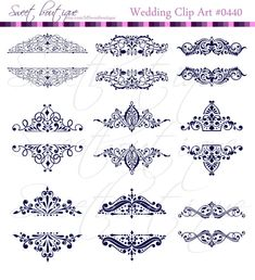 Vintage calligraphy clip art clipart diy wedding invitation designs 9 vintage calligraphy clip art clipart diy wedding invitation designs scrapbook embellishment text dividers digital frame navy blue 0440 stopboris Images