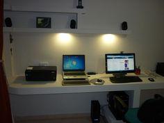 Construcción de Escritorio  para PC y Placard en Durlock