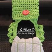 Crochet Towel Holder Pattern - via @Craftsy  FREE