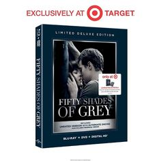 Fifty Shades of Grey (Blu-ray/DVD) - Target Exclusive Deluxe Version