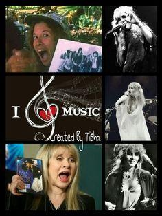 Stevie Nicks Collage Created By Tisha 04/18/15