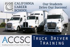 http://www.californiacareerschool.edu/training-programs/truck-driver - Did you know that you can obtain your Class A Commercial Truck Driver License in as little as 6 weeks?