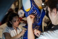 Atelier Versace - Spring 2015 - Fashion Backstage