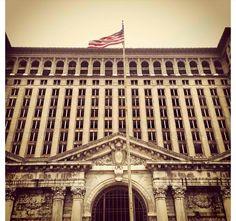 OLD TRAIN STATION , Detroit MI !
