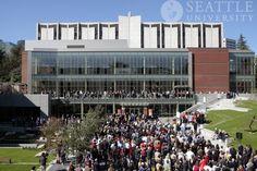 Lemieux Library and McGoldrick Learning Commons dedication, Seattle University