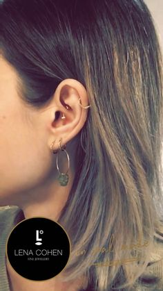 No Piercing Rook X Rings/ Criss Cross Piercing Imitation/twisted rings cuff/hoops cartilage ear cuff/X ring ear jacket/silver ohr manschette - Custom Jewelry Ideas Tragus Piercings, Ear Piercings Chart, Pretty Ear Piercings, Ear Peircings, Types Of Ear Piercings, Lobe Piercing, Triple Piercing, Septum, Tragus Jewelry