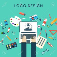 41713968-Concepts-for-creative-process-logo-and-graphic-design-design-agency-Designer-working-on-notebook-Ill-Stock-Vector.jpg (1300×1300)