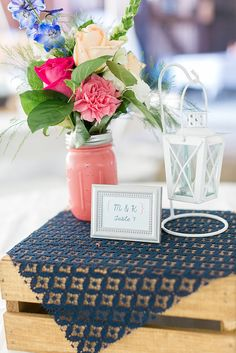 A boutique floral design team specializing in weddings and special events in Greater Richmond. Farm Wedding, Chic Wedding, Let's Get Married, Mason Jar Centerpieces, Painted Mason Jars, Country Chic, A Boutique, Special Events, Floral Design