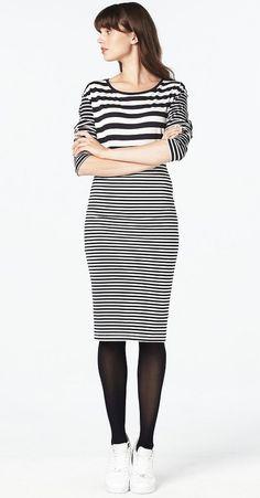 #stripes #fashion #basics #essentials #ladiesfashion #blackandwhite #wehkamp