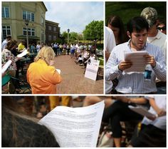 Birmingham-Southern College participated in the reading of King's Letter. https://twitter.com/FromTheHilltop/status/324265703903469571/photo/1