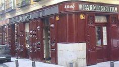 Taberna LA CARMENCITA en Madrid calle LIBERTAD