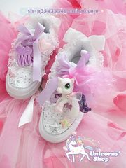 [Soft sister ☆] Japanese spank nile PERCH spank pony small Ma Leisi sneakers