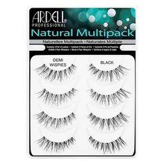 Ardell Multipack Fake Eyelashes Lash Enhancers & Primers Demi Wispies Natural  #Ardell
