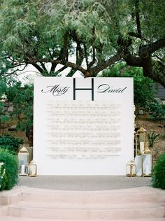 Former Olympic gold medalist swimmer Misty Hyman celebrated her big day in a gorgeous mountain wedding in Arizona Tableau Marriage, Wedding Background, Seating Chart Wedding, Here Comes The Bride, Best Part Of Me, Wedding Signs, Olympics, Fairy Tales, Arizona
