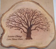 Your design on wood cuts