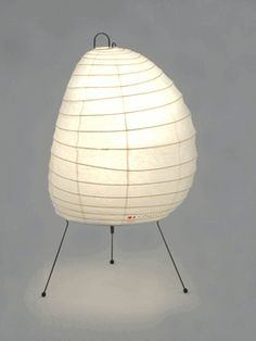 Table Lamp Model 1N - by Noguchi - Inform - $105 - lovely soft glow and texture for lucite table