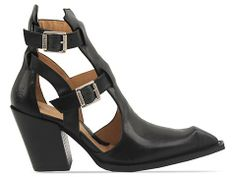 John Fluevog Swordfish Postmodern in Black at Solestruck.com
