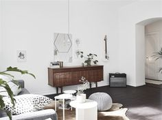 Beautiful Nordic apartment from the turn of the century (19)