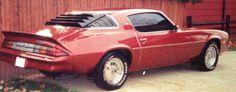 1979 Camaro Berlinetta-my beloved car for 14 years