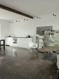 Casa de pintora na Dinamarca   por Norm Architecture