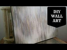 Hello, everyone! Welcome to my channel :) This is my first-EVER DIY on my channel! I will show you how to make your own Metallic Abstract Wall Art. This woul...