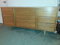 Mid-Century Modern Dresser and Nightstand Set in by somidcentury