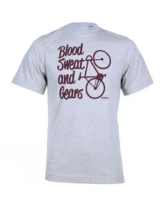 a7fd0affad346 Men s Brakeburn Blood Sweat and Gears T-shirt - Grey Marl