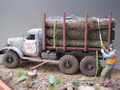 "ZIL - 157 ""Logging Truck"""