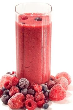 Very Berry Smoothie Recipe      1/4 cup berries (your choice!)  4 ounces skim milk  6 ounces calcium-fortified orange juice  Blend together all three ingredients until smooth. Yield: approximately 1 serving.