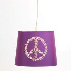 2 - Purple Peace Pendant Light