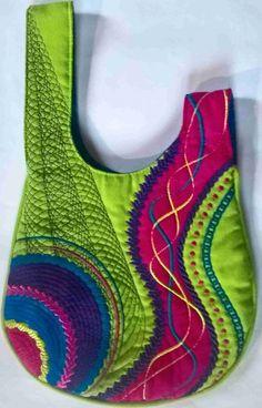 Diy bags 476889048038329796 - Japanese Knot Bag, free design and PDF instructions. Sacs Tote Bags, Tote Purse, Handbag Patterns, Bag Patterns To Sew, Patchwork Patterns, Patchwork Designs, Denim Bag Patterns, Sewing Patterns, Patchwork Bags
