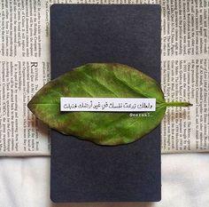 ولعلك زرعت نفسك في غير أرضك فذبلت Beautiful Arabic Words, Arabic Love Quotes, Love Quotes For Him, Islamic Quotes, Sweet Words, Love Words, Words Quotes, Me Quotes, Qoutes