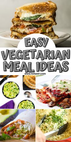 25 AMAZING vegetarian meal ideas! These meatless meals will be loved by you and your family! #MeatlessMeals Vegetarian Lifestyle, Vegetarian Meal, Vegetarian Recipes Easy, Lunch Recipes, Baked Banana Chips, Damn Delicious Recipes, Butternut Squash Fries, Veggie Fried Rice, Pesto Pasta Salad