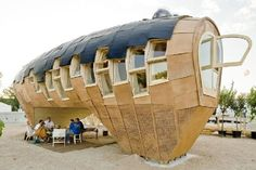 cool solar wooden house