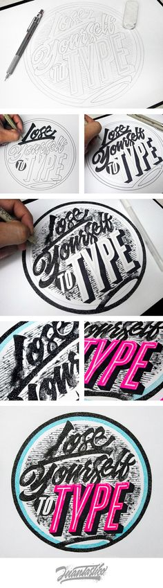 Typography Illustrations                                                                                                                                                                                 Más