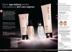 My skincare routine.. Love this stuff. My skin is much smoother and more even toned. www.marykay.com/cruz
