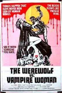 The Werewolf Versus the Vampire Woman (1971) Poster