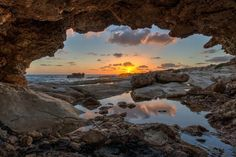 Lovely Sunset Time by Roger Raad