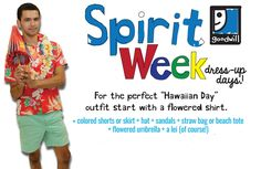 Goodwill is a great place to shop for school #SpiritWeek attire!