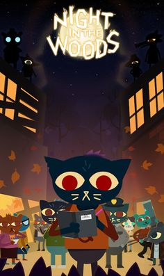 Steam Community: Night in the Woods. Great story I gotta say, just wish I wasn't rhythmically challenged. Future Wallpaper, Wood Wallpaper, Video Game Art, Video Games, Game Character, Character Design, Mae Borowski, Night In The Wood, Owl House