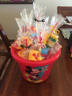 Mickey Mouse party bags to go