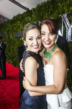 The Tony Awards - - Laura Osnes - Sierra Boggess They're so perfect and having them together is just omg overload! They r my favorites! Theatre Geek, Broadway Theatre, Musical Theatre, Musicals Broadway, Theatre Quotes, Laura Osnes, Best Friend Outfits, Theatre Problems, Sierra Boggess