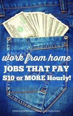 Do you need to make more than $10 an hour working from home? This is a huge list of legitimate companies that hire people to work from home and they all pay $10 or more per hour.
