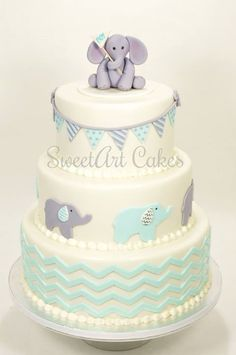 It's a boy, baby shower cake