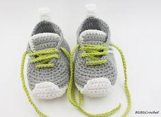 Grises zapatos de bebé botitas de bebé ganchillo zapatos de