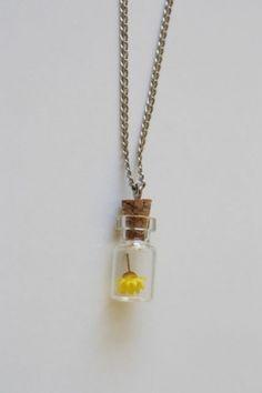 mini jar necklace